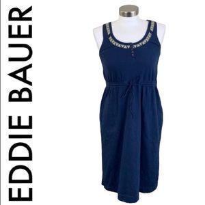 EDDIE BAUER BLUE DRESS SIZE XSMALL